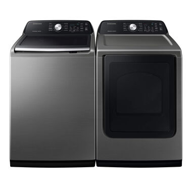 4.5 cu. ft. Top Load Washer & 7.4 cu. ft. Electric Dryer