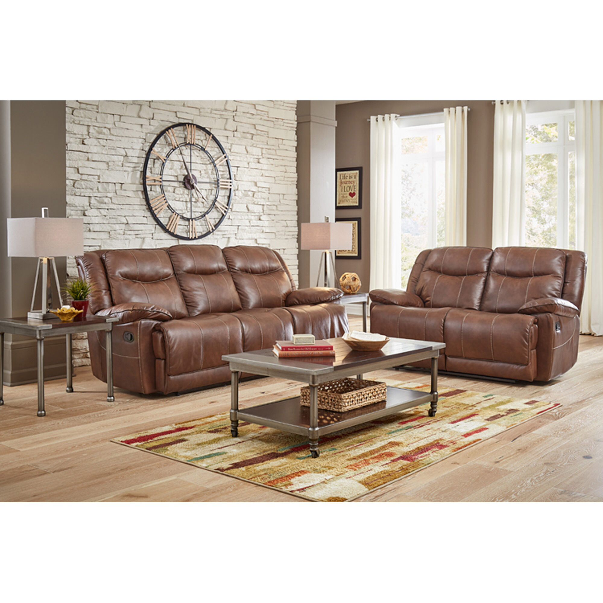 7 Piece Barron Reclining Living Room Collection