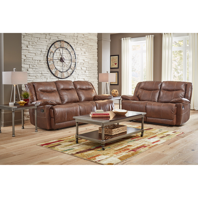 The Living Room Furniture: Amalfi Living Room Sets 7-Piece Barron Reclining Living