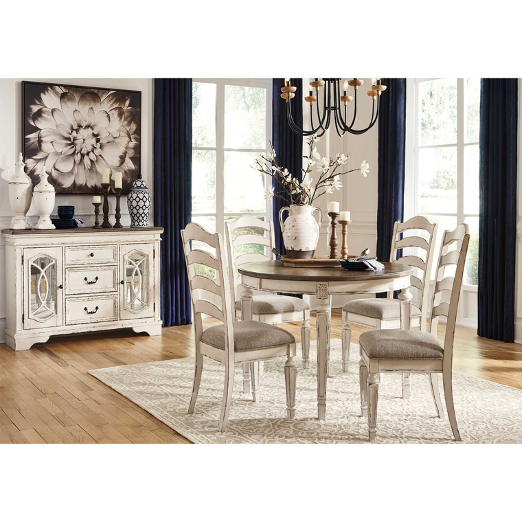 6-Piece Realyn Dining Room Collection with Server/Buffet