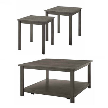 3-Piece Heath Cocktail & End Tables Bundle