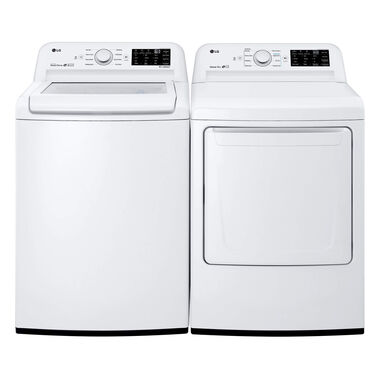 4.5 cu. ft. Top Load Washer & 7.3 cu. ft. Gas Dryer