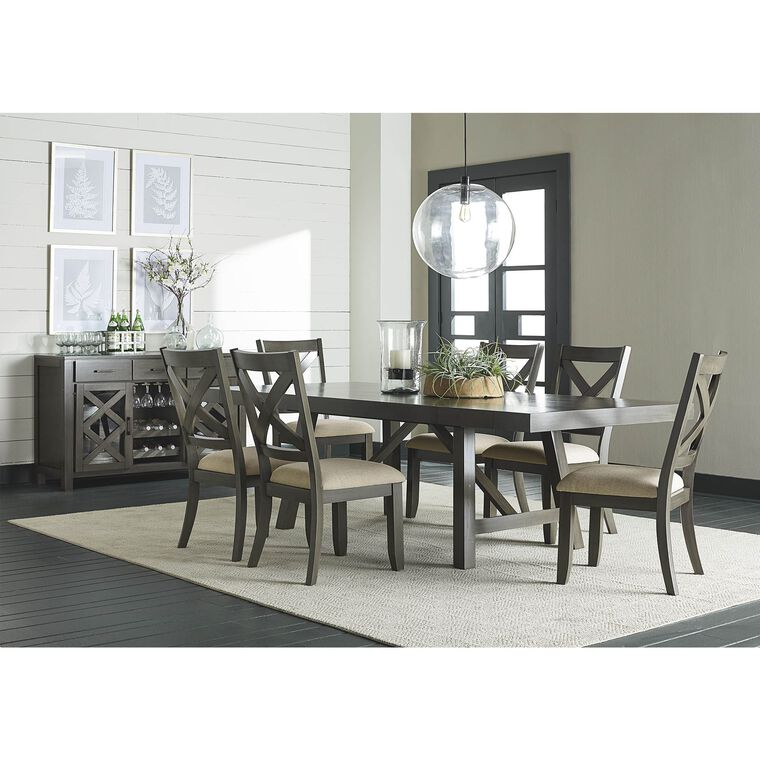 7-Piece Omaha Counter Height Dining Room Collection