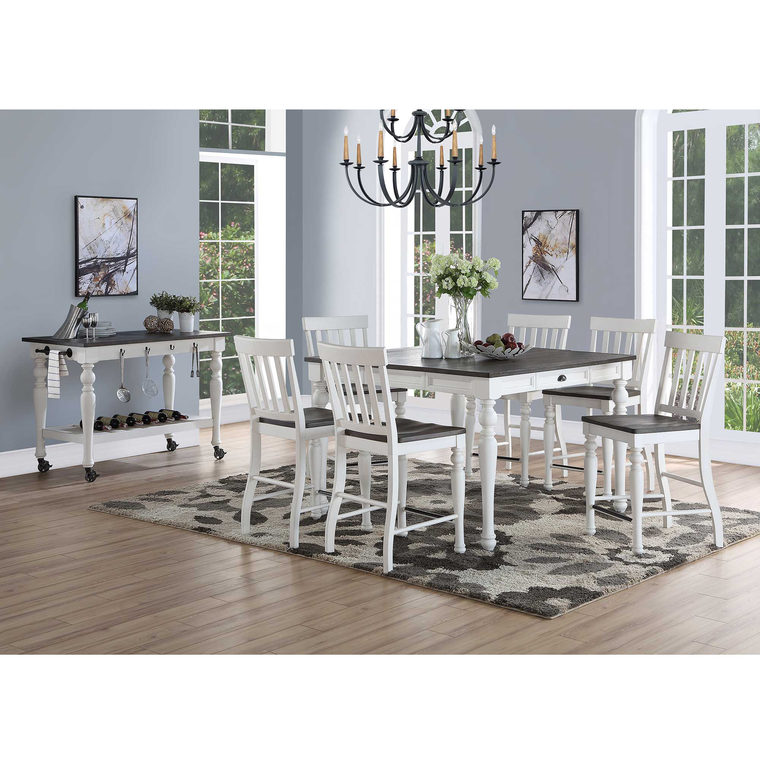 "8-Piece Joanna 54"" Counter Height Dining Room Collection"