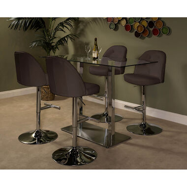 5-Piece High Country Archer Dining Set - Brown