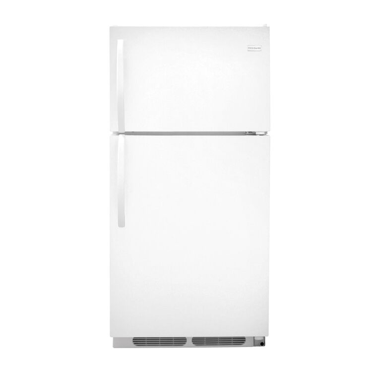 14.6 cu. ft. Top Mount Refrigerator in White