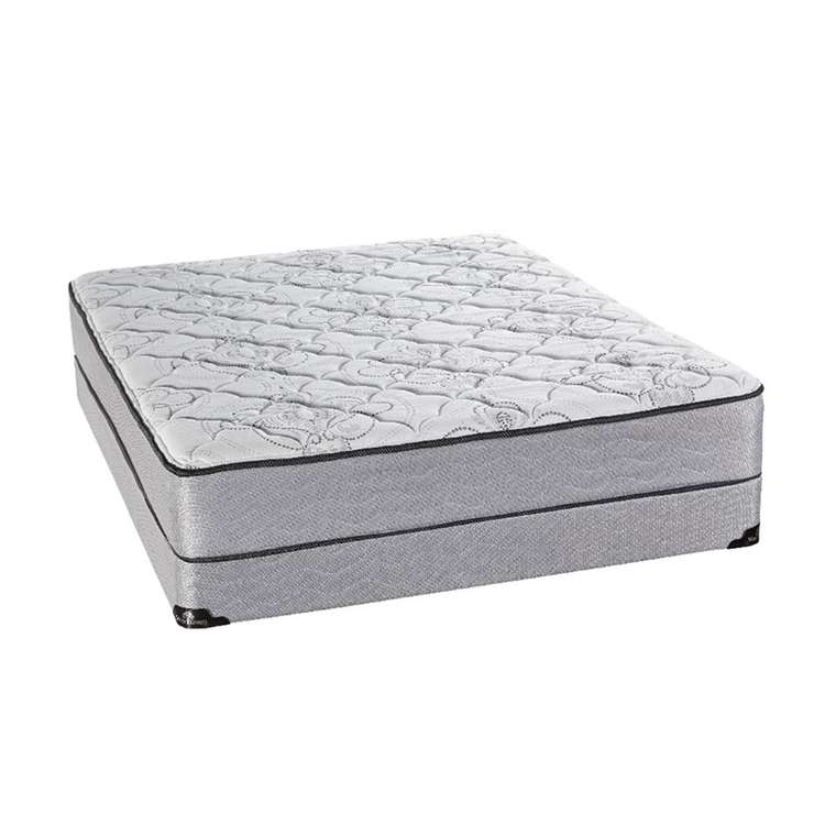 """Luxury Tight Top Full Mattress with 9"""" Foundation and Protectors"""