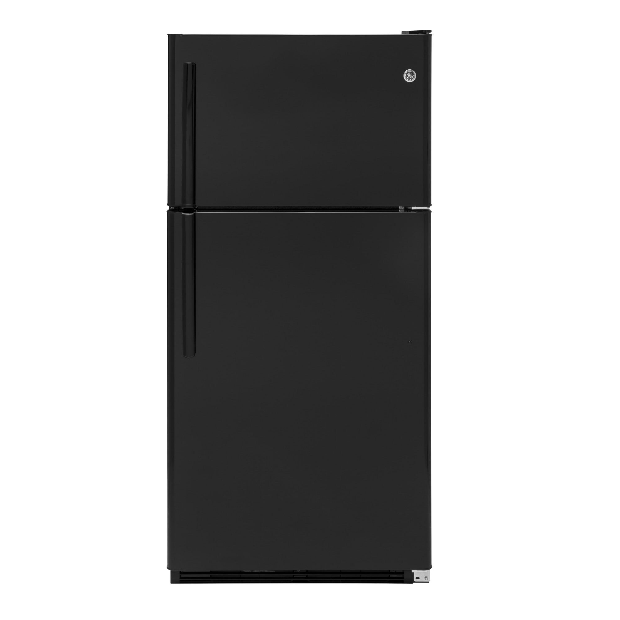 Top Mount Refrigerator   Black