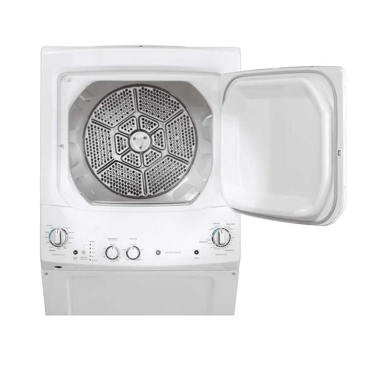 """27"""" Spacemaker® 3.8 cu. ft. Top Load Washer & 5.9 cu. ft. Gas Dryer"""