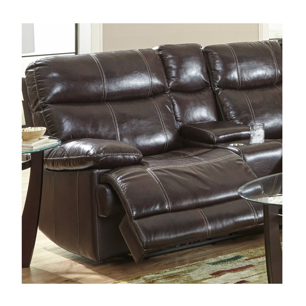 Happy Leather Sectional Sets 3 Piece Navarro Power Reclining Living