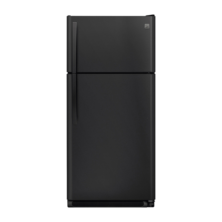 18 cu. ft. Top Mount Refrigerator - Black | Tuggl