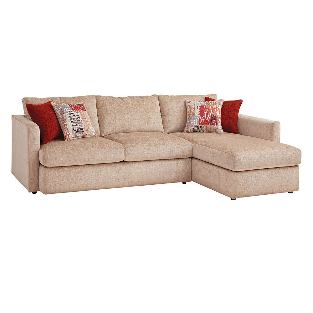 2 Piece Cie Chaise Sofa Sectional Living Room Collection