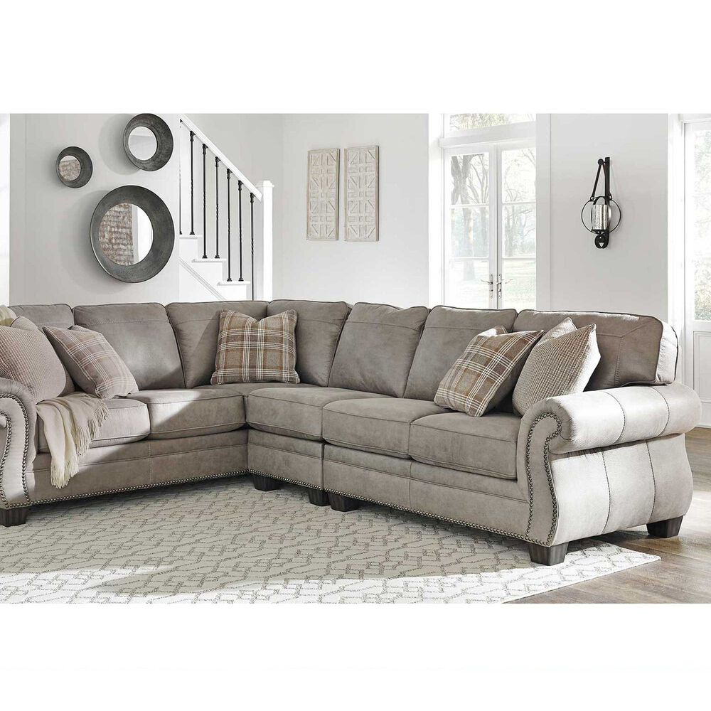 Ashley Furniture Ind. Sofa & Loveseat Sets 3-Piece Olsberg Sectional ...