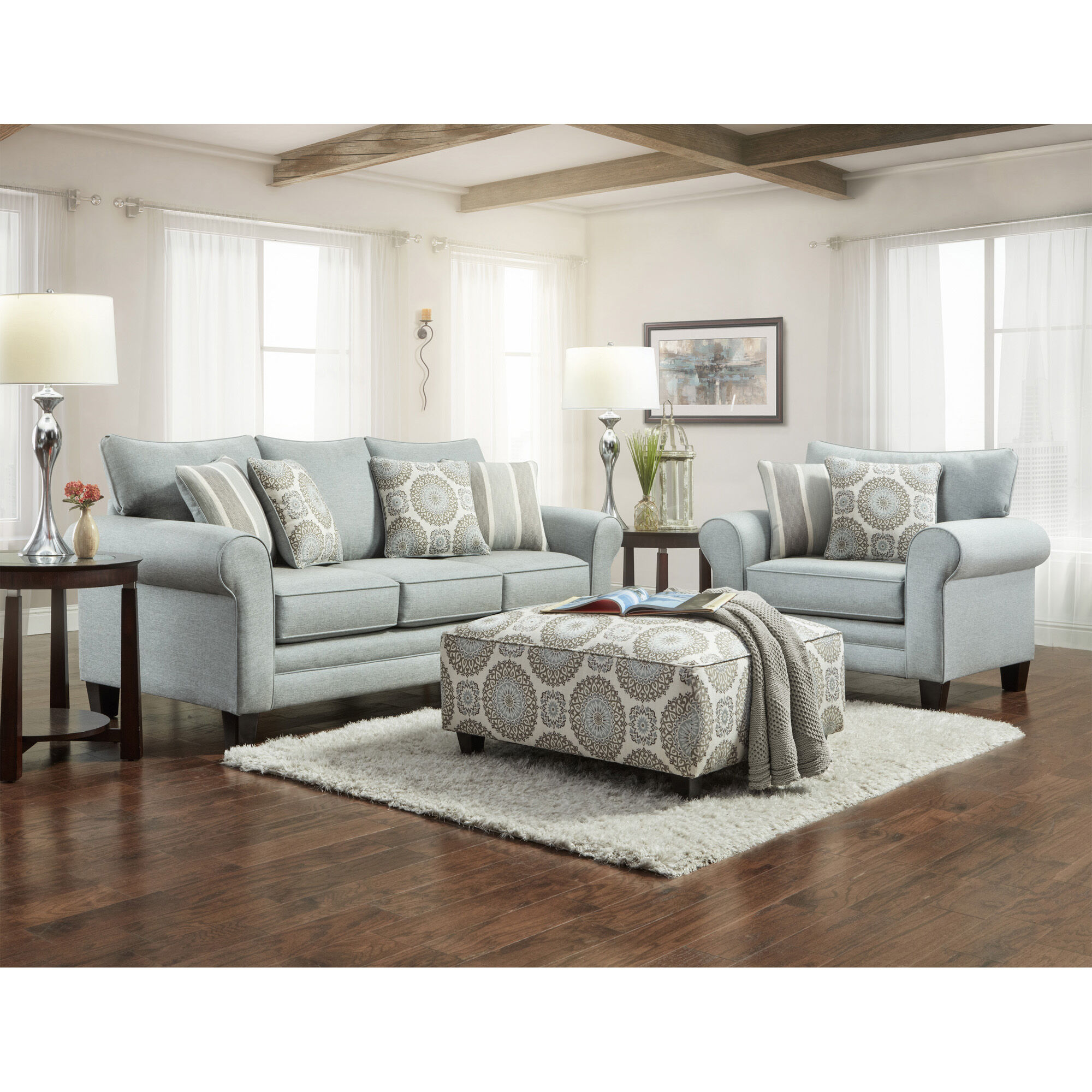 3 Piece Lara Living Room Collection · Fusion Furniture