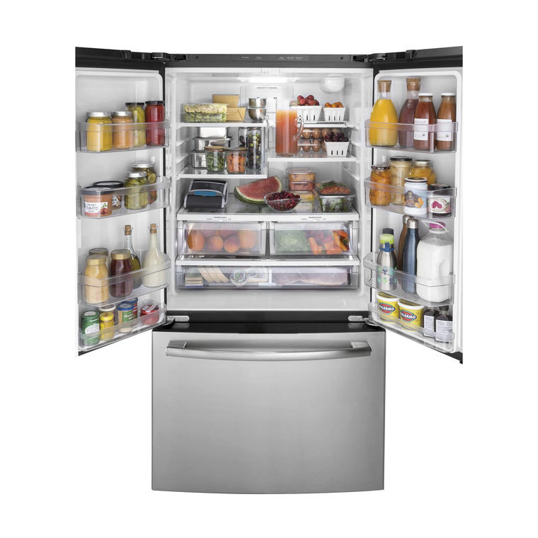 27.0 cu. ft. Energy Star French Door Refrigerator - Stainless Steel