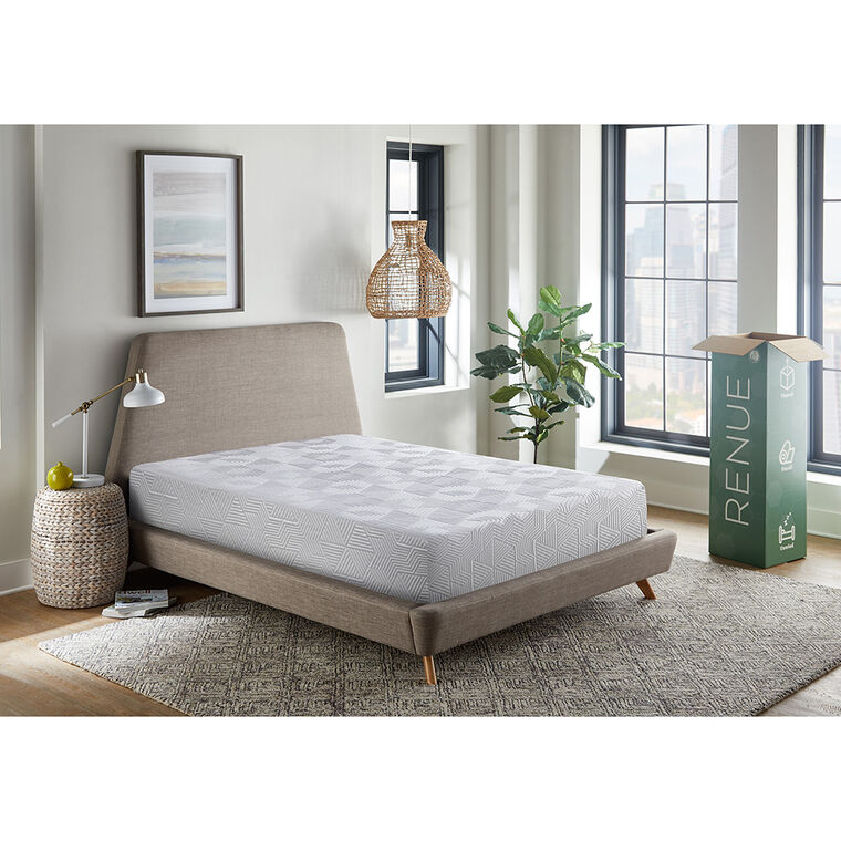"8"" Tight Top Medium Twin Gel Memory Foam Boxed Mattress"