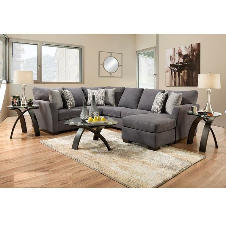 7-Piece Cruze Sectional Living Room Collection