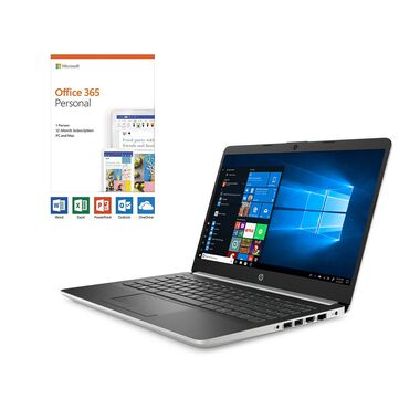 "14"" 128GB SSD Laptop with A4 Processor Microsoft Office 365 Personal and Total Defense Internet Security"