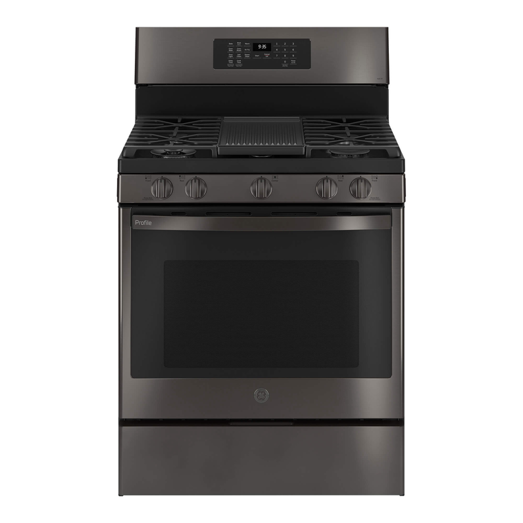 5.6 cu. ft. Self Clean Gas Convection Range - Black Stainless Steel