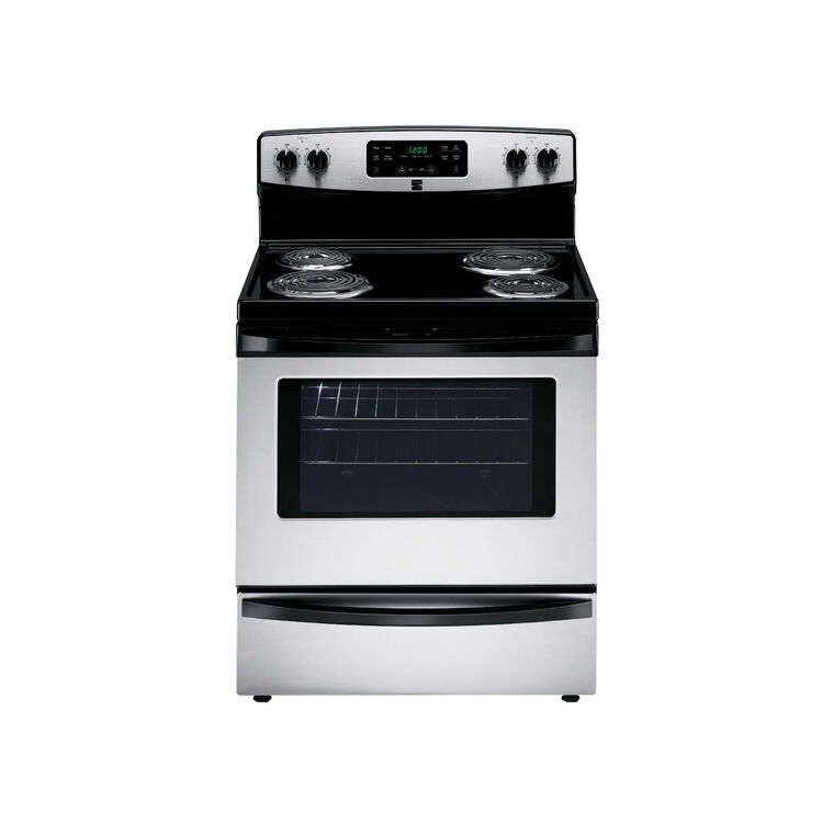 5.3 cu. ft. Self-Clean Coil Range - Stainless Steel