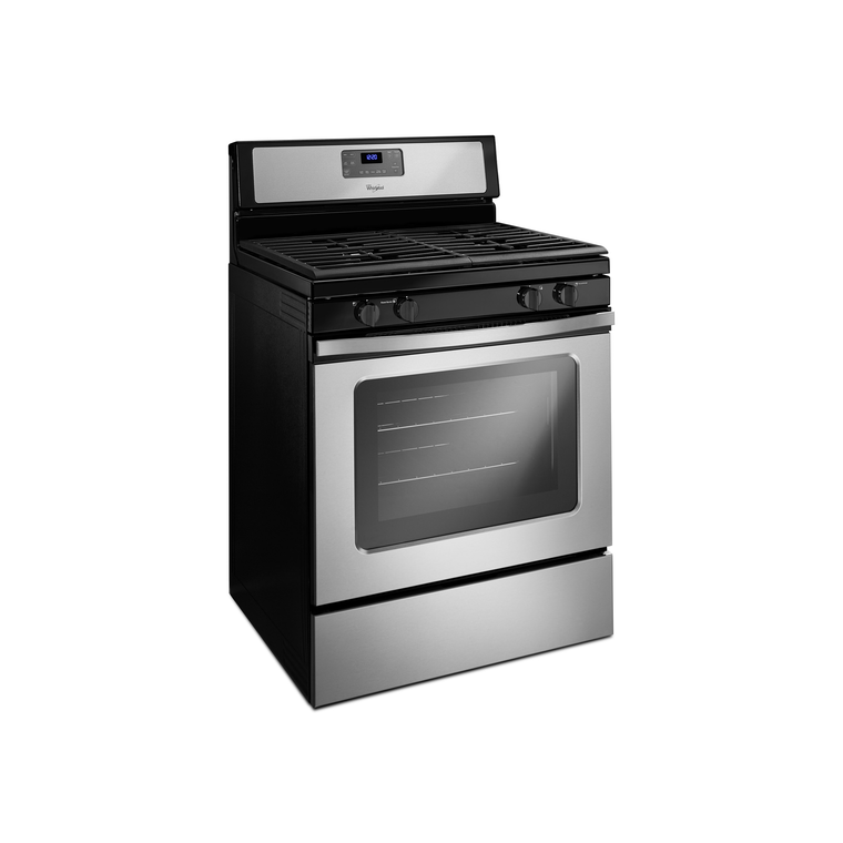 5.0 cu. ft. Self-Cleaning Gas Range - Stainless Steel