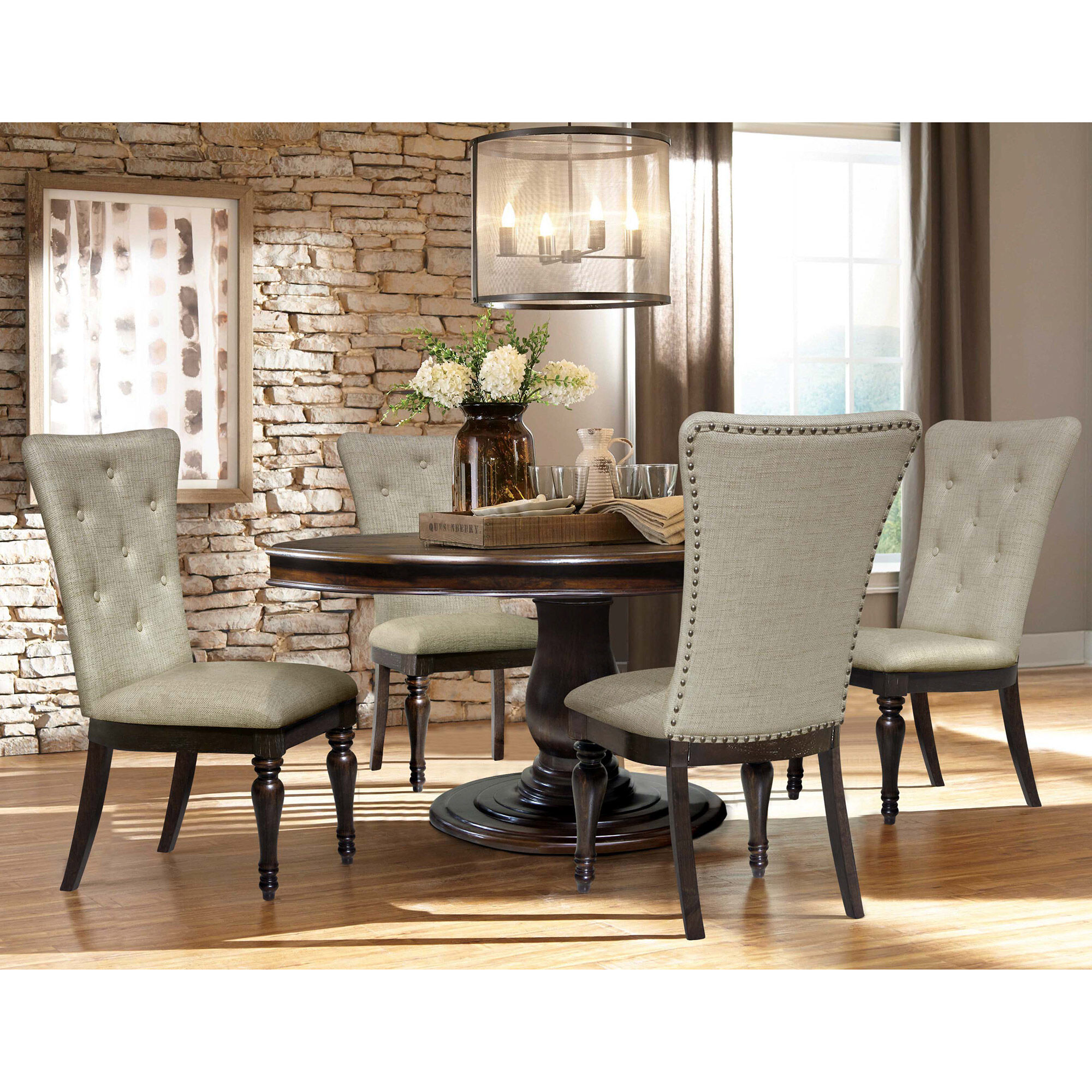 Pics of dining room furniture Roomstogo 5piece Belmont Dining Room Collection Rent To Own Dining Room Tables Sets Aarons