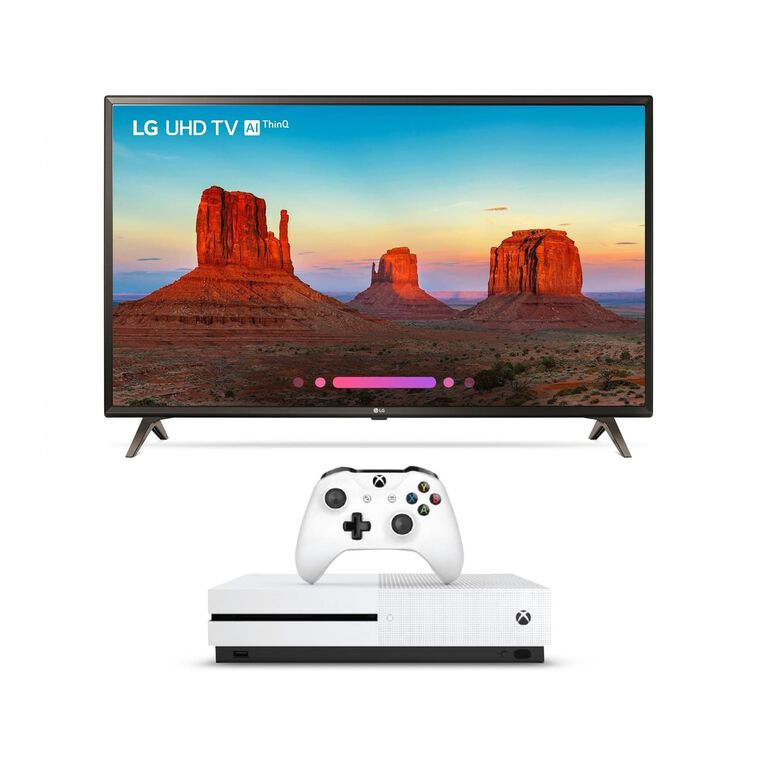 "Paquete de Smart TV LED UHD 4K 55"" Class (54.6"" en Diag.) y Xbox One S de 1 TB"
