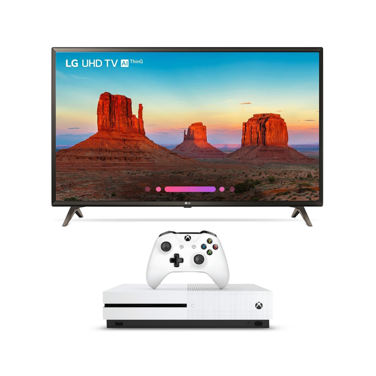 "55"" Class 4K UHD LED Smart TV & 1TB Xbox One S Bundle"