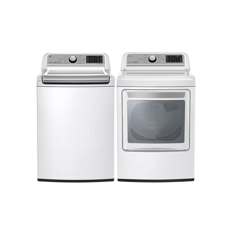 5.0 cu. ft. Capacity Top Load Washer & 7.3 cu. ft. Super Capacity Electric Dryer