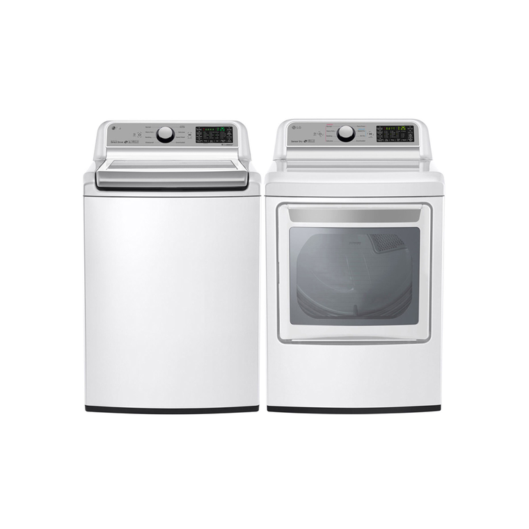 5.0 cu. ft. Capacity Top Load Washer & 7.3 cu. ft. Super Capacity Electric Dryer at Aaron's in Lincoln Park, MI | Tuggl