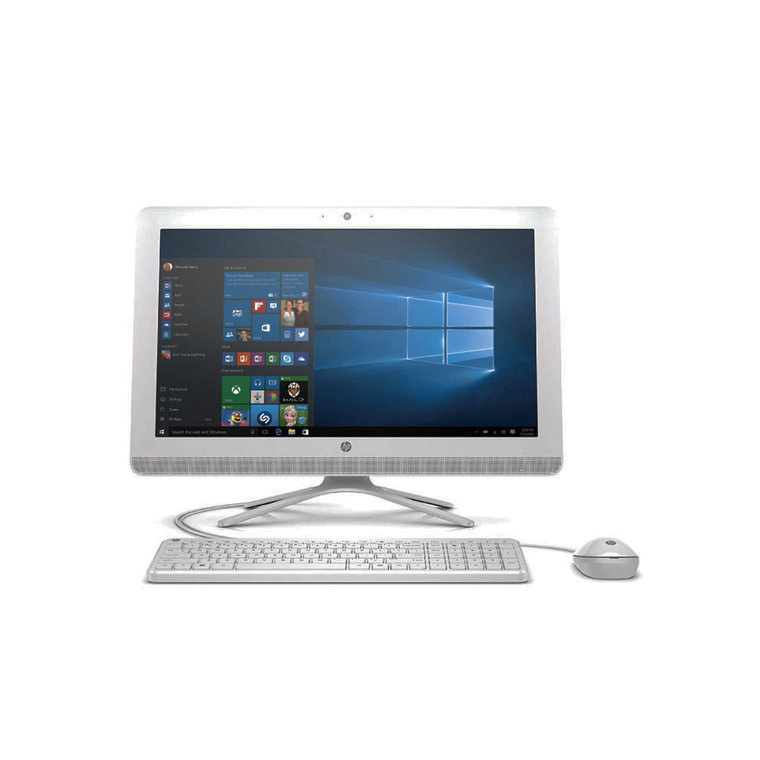 """24"""" All-in-One Desktop with Total Defense Internet Security"""
