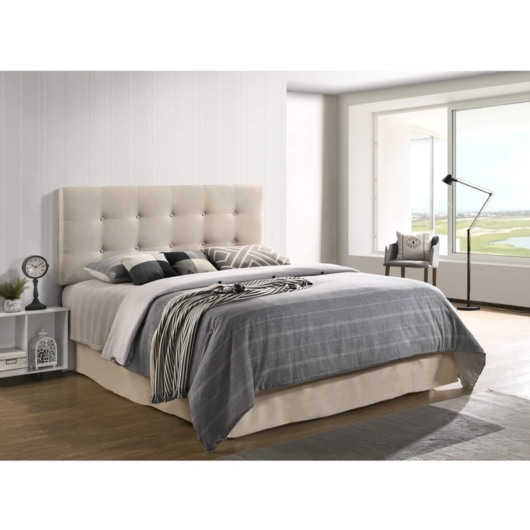 Isabella Queen Bed w/ Woodhaven Tight Top Firm Mattress