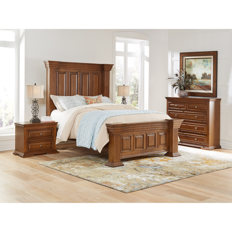 happy leather bedroom groups 5 piece preston queen bedroom collection. Black Bedroom Furniture Sets. Home Design Ideas