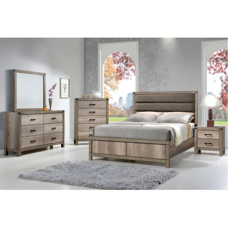 7-Piece Matteo Bedroom w/Queen Bed