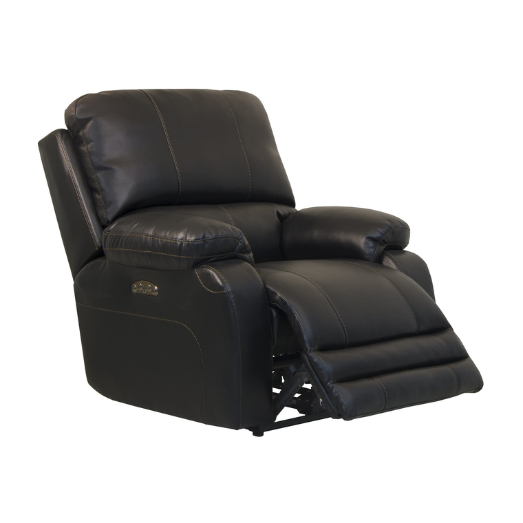 Power Headrest Lay-Flat Recliner