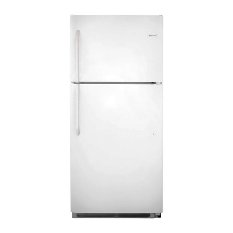 21 cu. ft. Top Freezer Refrigerator - White at Aaron's in Topeka, KS | Tuggl