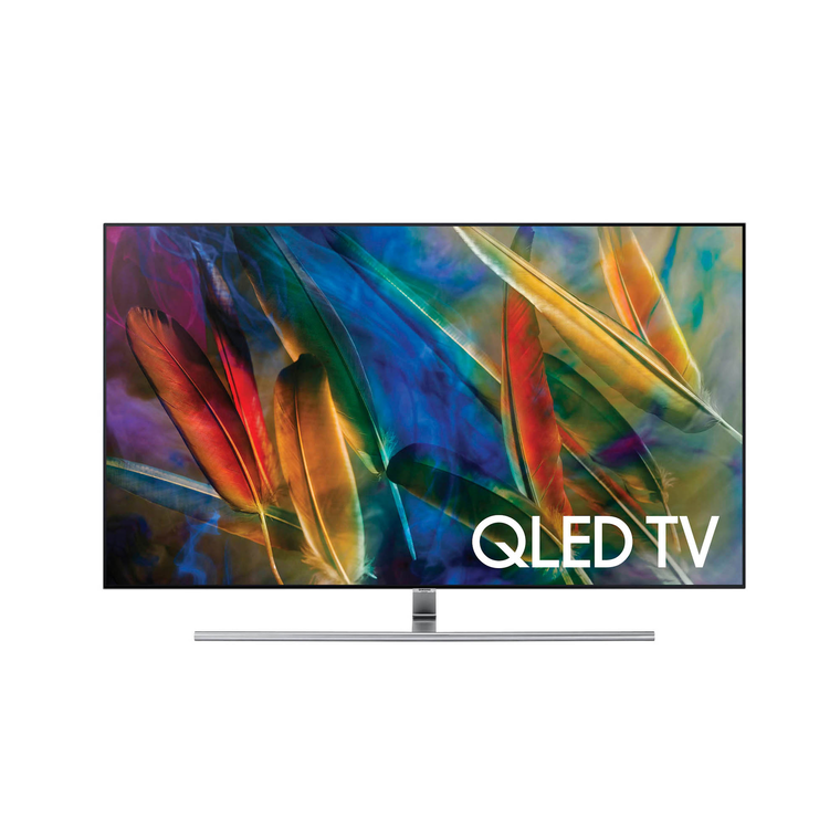 """55"""" Class (54.6"""" Diag.) Smart QLED 4K UHD TV at Aaron's in Lincoln Park, MI 