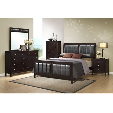 11-Piece Lawrence Queen Bedroom w/ Beautyrest Tight Top Medium Firm Mattress