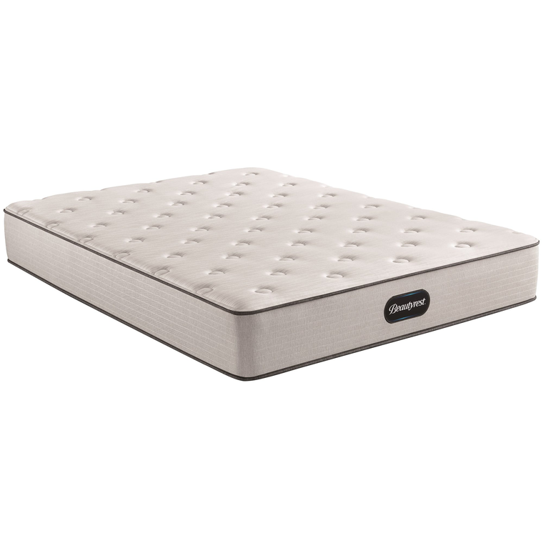 Tight Top Medium Firm Queen Mattress with Woodhaven Foundation and Protectors