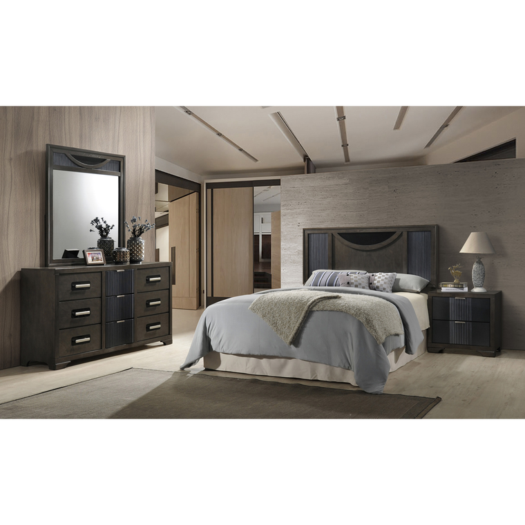 9-Piece Seneca Queen Bedroom Collection With Tight Top Mattress