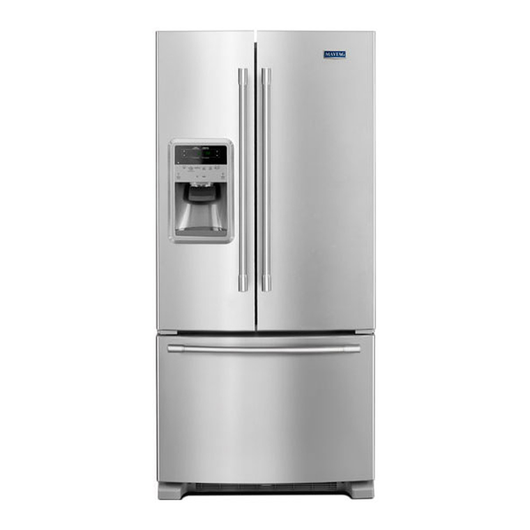 22 cu. ft. French Door Refrigerator - Stainless Steel