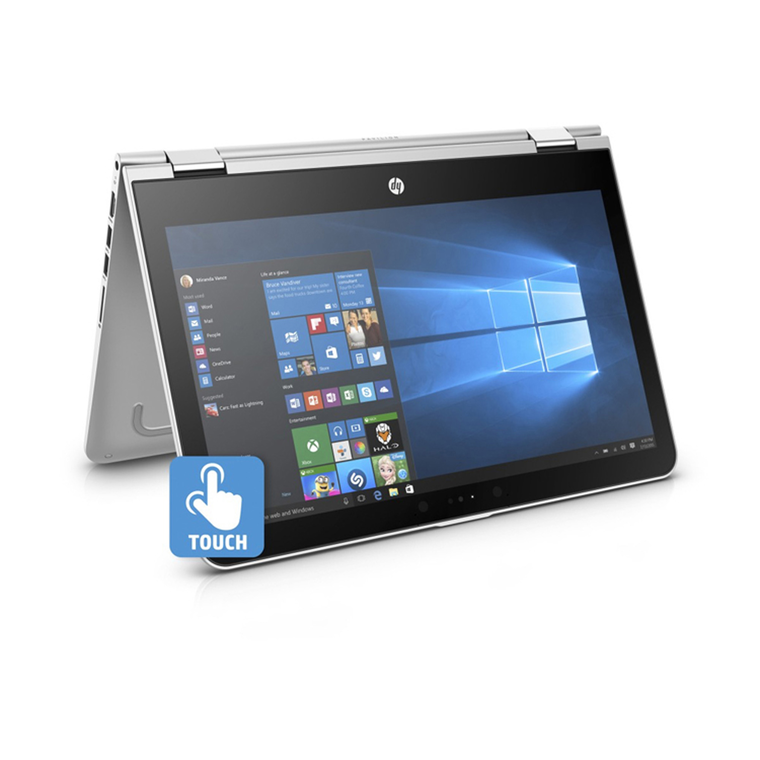 """13.3"""" Pavilion Touch Laptop with Total Defense Internet Security"""