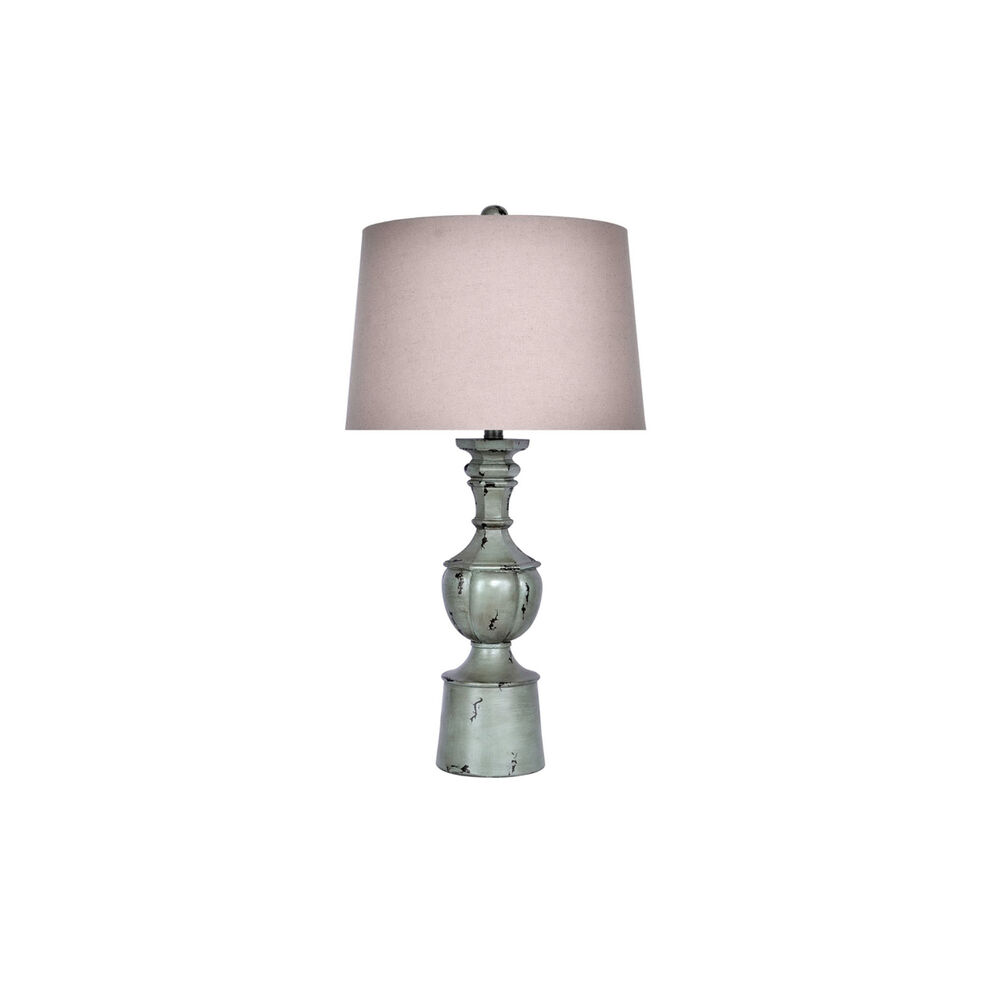 Grandview Home Accessories Distressed Iceberry Green Table Lamp Set