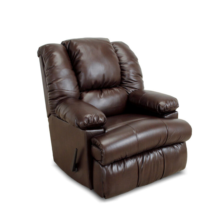 Rocker Recliner with Frosty Fridge