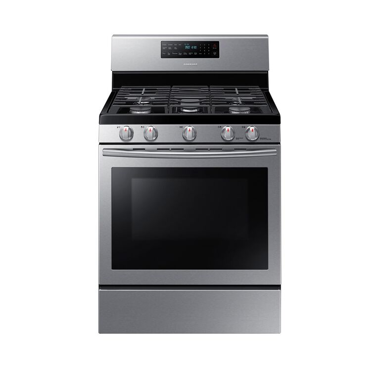 5.8 cu. ft. Convection Oven Gas Range - Stainless