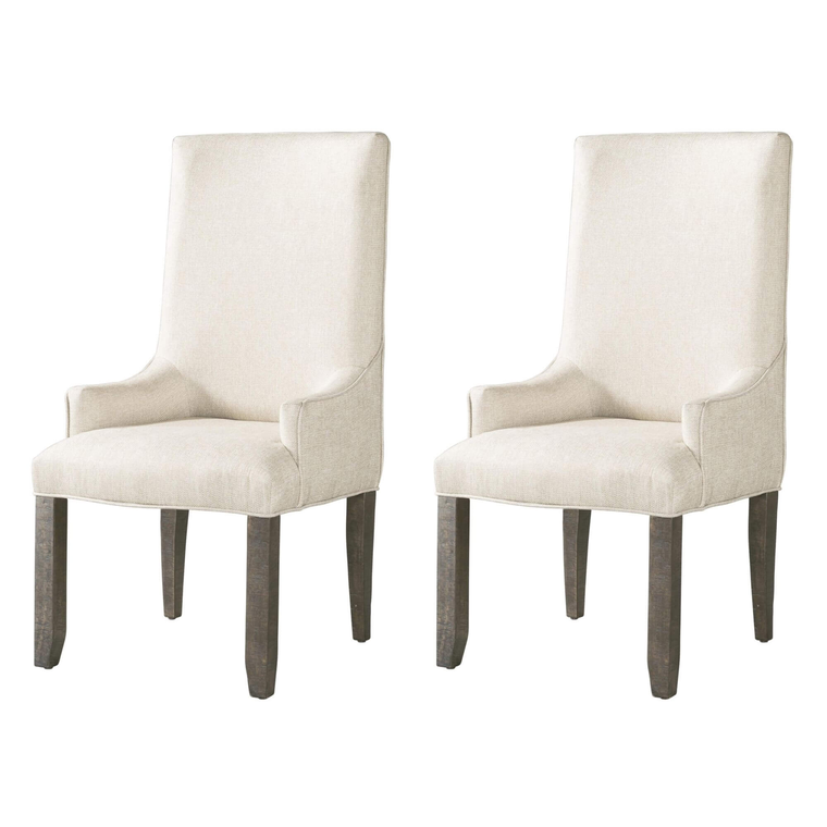 7-Piece Finn Dining Room Collection with 2 Parson Chairs