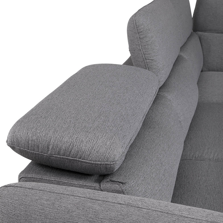 3-Piece Avery Sectional Chaise Sleeper Sofa with Storage Ottoman