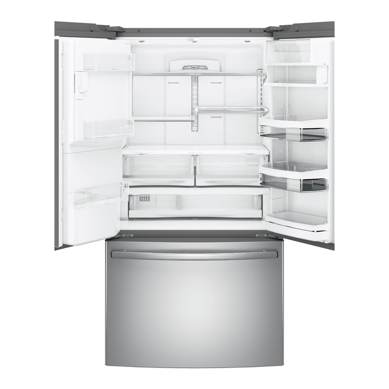 22.2 cu. ft. Energy Star French Door Refrigerator - Stainless Steel