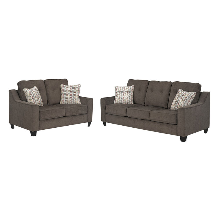 2-Piece Marco Sofa and Loveseat