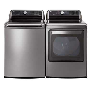 5.0 cu. ft. Top Load Washer & 7.3 cu. ft. Electric Dryer